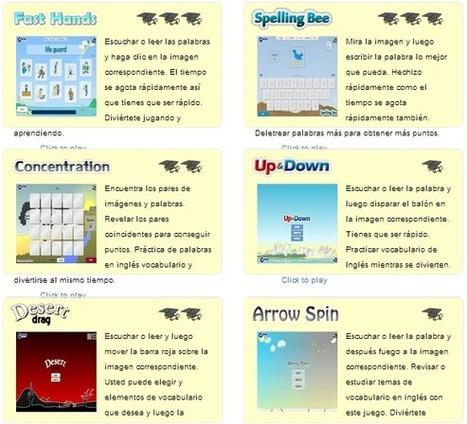 Juegos para aprender Inglés ~ EduTIC   NTecnologías   Scoop.it