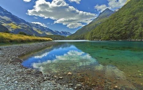 Blue Lake di Selandia Baru, Danau dengan Air Paling Bening Sedunia | Forum.Jalan2.com | Scoop.it
