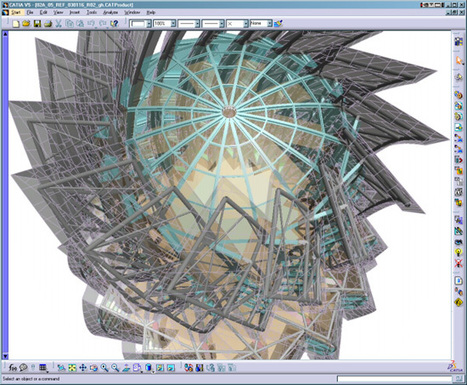 Technology at Work at Gehry Partners   Infographie 3D   Scoop.it