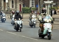 Photo gallery: March of the Mods event sees over 100 scooters ride through Norwich | Mods & Motown | Scoop.it