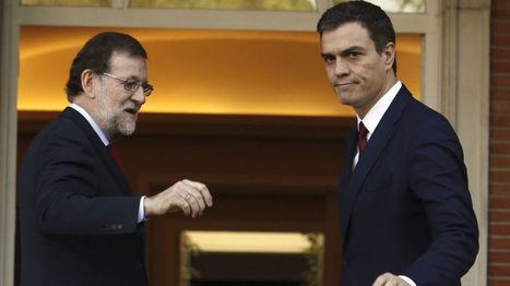 La bochornosa farsa de Rajoy y Sánchez | ¿Qué está pasando? | Scoop.it
