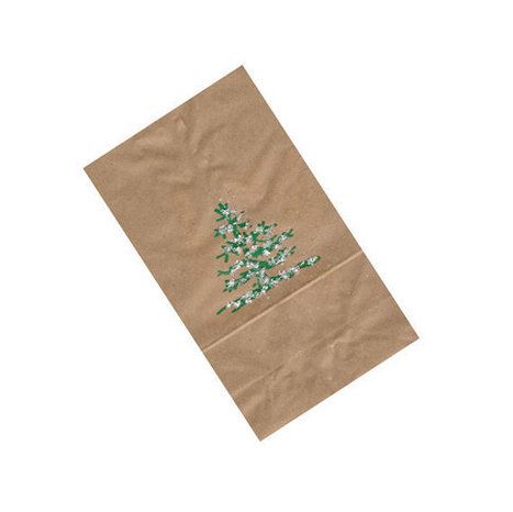Christmas Party Favor Brown Paper Bag Christmas Tree Snowflakes extra large 10 ct | Candy Buffet Weddings, Events, Food Station Buffets and Tea Parties | Scoop.it