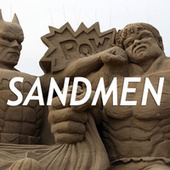 "11 Splendid Sand Sculptures Made For the Movie Geek | ""Cameras, Camcorders, Pictures, HDR, Gadgets, Films, Movies, Landscapes"" 