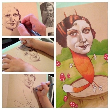 This Mom Lets Her 4-Year-Old Finish Her Drawings, And The Results Are Hilarious! ~ Distractify | :: The 4th Era :: | Scoop.it