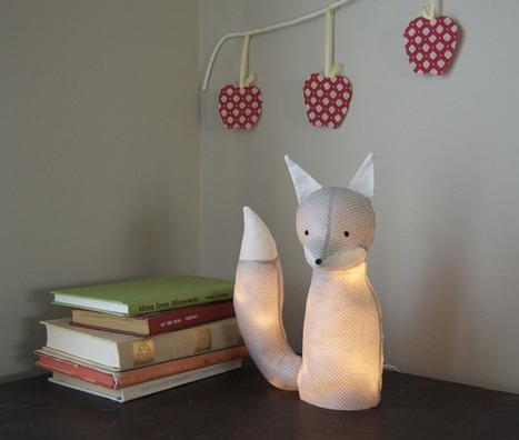 cr er un luminaire original pour une cha. Black Bedroom Furniture Sets. Home Design Ideas