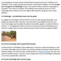 Tous les aspects d'un Voyage Cambodge | Circuits et voyages Cambodge | Scoop.it