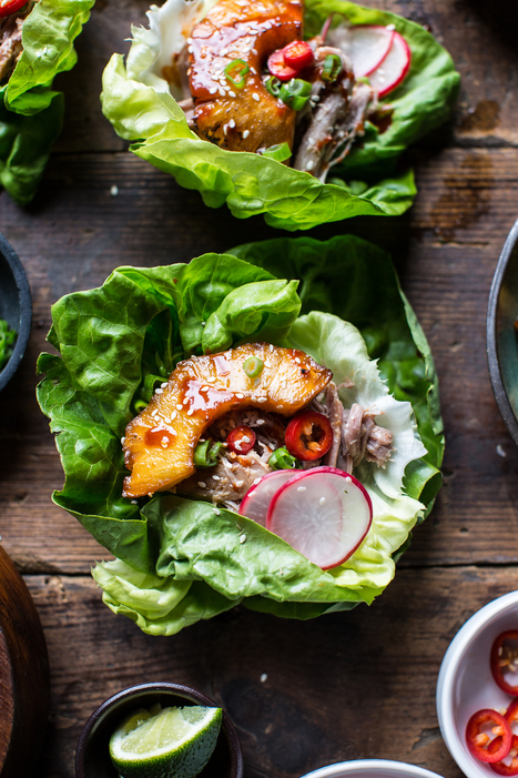 Food Ways - Pineapple lover?  Pork lover?  Got lettuce? Korean Pineapple Pork Lettuce Wraps. | My I Like Eating Channel | Scoop.it
