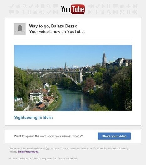 YouTube Adds Improvements to Uploading, Publishing and Sharing Videos | Social Marketing Strategy | Scoop.it
