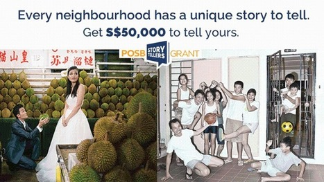 S$150,000 grant for unique stories about Singapore's neighbourhoods launched | #MeaningfulBrands | Scoop.it