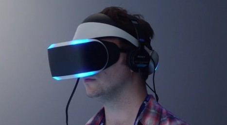 Trying Sony's virtual game-changer | Virtual Reality Therapy | Scoop.it