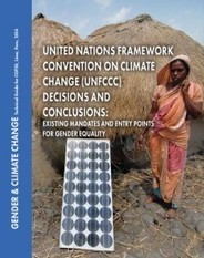 WEDO » On the road to Lima, what is the status of gender equality in current UNFCCC decisions? NEW POLICY GUIDE | Indigenous | Scoop.it
