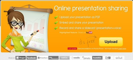 SlideSnack | Upload & Share Presentations Online | Web 2.0 for Education | Scoop.it