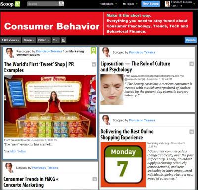 Consumer Behavior Scoop it – o seu digest diário em Comportamento do Consumidor | Consumer behavior | Scoop.it