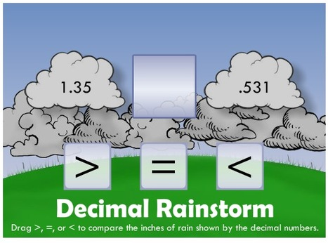 mathsandelearning - Decimals | Grade 5 Math Games | Scoop.it