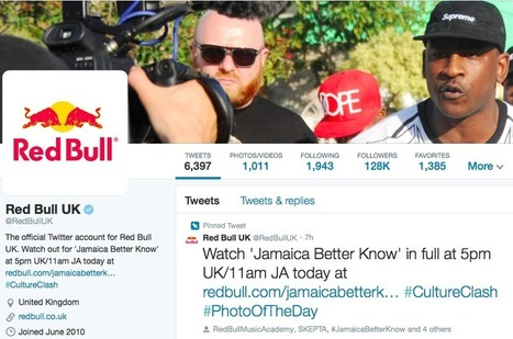 Tweets With Wings: How Red Bull's Branded Content Flew Them To 35,000,000 Followers | Social Media Cookbook | Scoop.it