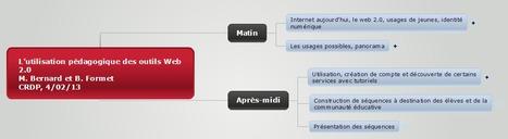 L'utilisation pédagogique des outils Web 2.0 [MindMap] | Time to Learn | Scoop.it