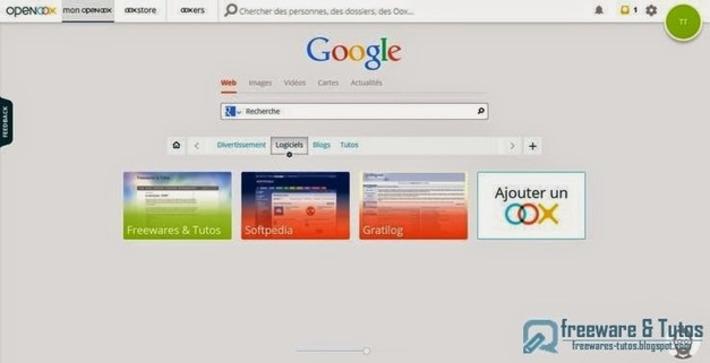 Openoox : une nouvelle page de démarrage pour organiser et partager facilement vos sites favoris | TIC et TICE mais... en français | Scoop.it