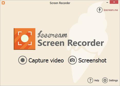 Icecream Screen Recorder: logiciel windows pour filmer son ecran avec fonction de dessin. | Time to Learn | Scoop.it