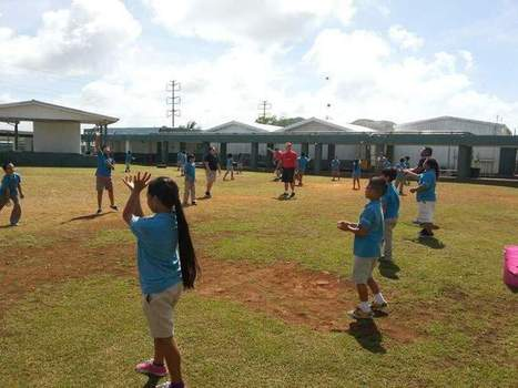 After-school program teaches kids sports skills - Pacific Daily News | Sports Education Towards Healthy Living | Scoop.it