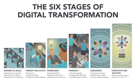 The Race Against Digital Darwinism: The Six Stages of Digital Transformation | Innovating in an Age of Personalization | Scoop.it