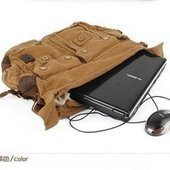 Cool canvas laptop shoulder bags for mens | personalized canvas messenger bags and backpack | Scoop.it