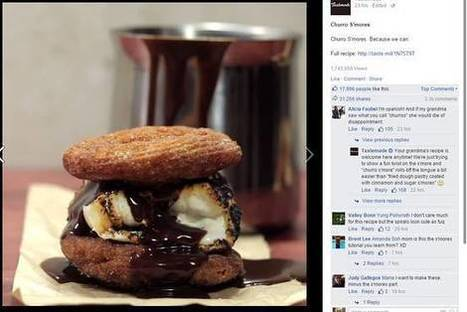 Food Videos Rule on Facebook | Social media news | Scoop.it