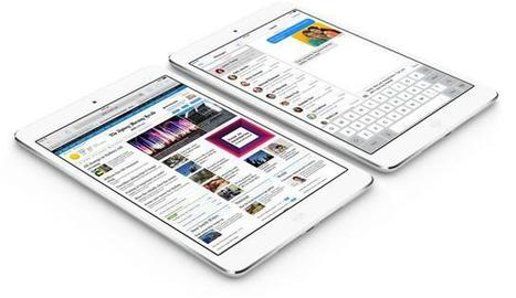 """Retina iPad Mini's Display Ranks A """"Distant Third"""" Compared To Nexus 7 And ... - Ubergizmo 