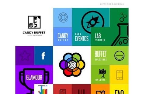 25 Bright and Bold Website Designs | Advertising Design | Scoop.it