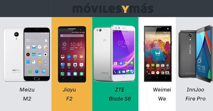 ¡TOP 5 mejores smartphones por menos de 200€ en calidad-precio!