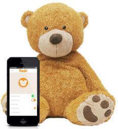 Tedi, l'ourson connecté qui prend soin de vos enfants | Lettre de veille technologique | Scoop.it
