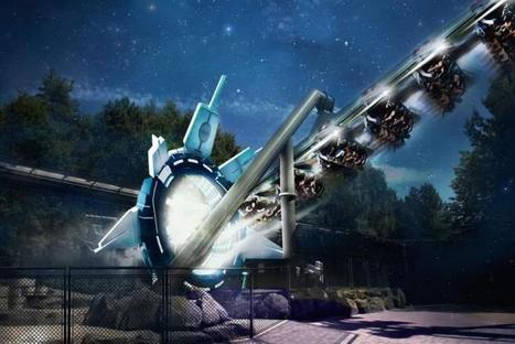 Physical theme park meets #VR Headsets - release your inner astronaut with the world's first virtual reality rollercoaster | Pervasive Entertainment Times | Scoop.it
