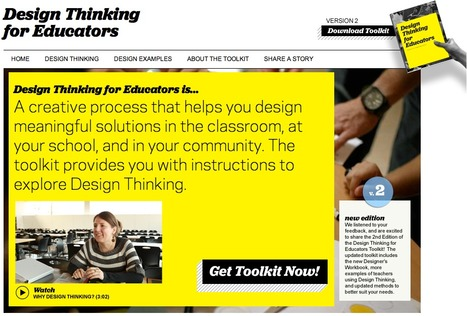 Design Thinking for Educators | MyScoopIt | Scoop.it