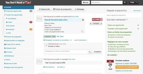 You don't need a Crm. La prospection commerciale en mode collaboratif | Les outils du Web 2.0 | Scoop.it
