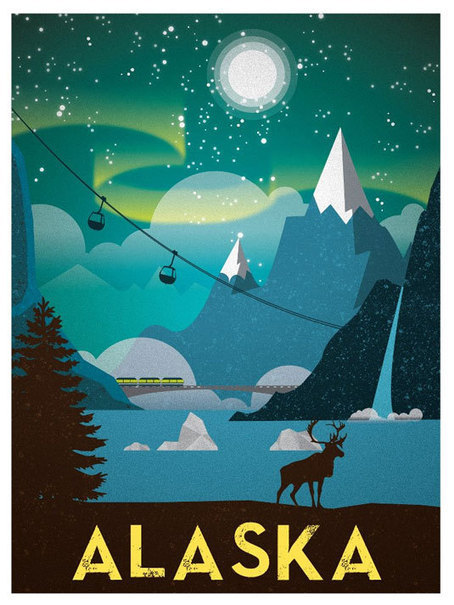7 gorgeous travel posters to inspire you | Inspired By Design | Scoop.it