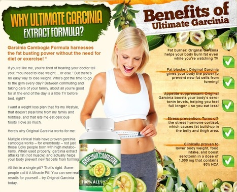 Original Garcinia Cambogia TRUTH - You won't BELIEVE what these people try to put over on you! | Control Your Weight Easily With Supplement | Scoop.it