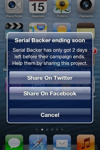 SerialBacker- New Crowdfunding App gives backers a share in the Revenue | Crowdfunding for App | Scoop.it