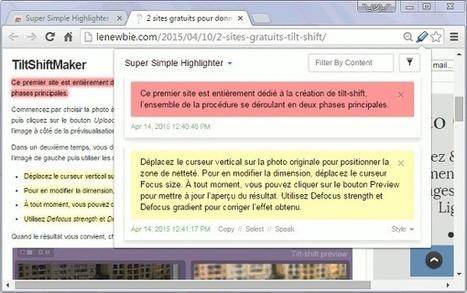 Surligner un passage d'une page web sur Chrome | Le Newbie | Web 2.0 et travail collaboratif | Scoop.it
