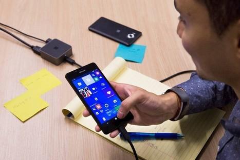 Microsoft Edge and Continuum: Your desktop browser on Mobile | News de la semaine .net | Scoop.it