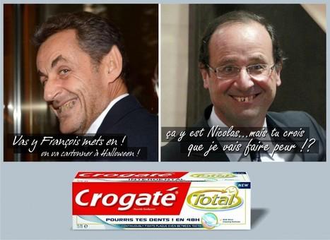 Fausse pub colgate avec Nicolas et François - Blog Idole   Humour et pub détounée   Scoop.it