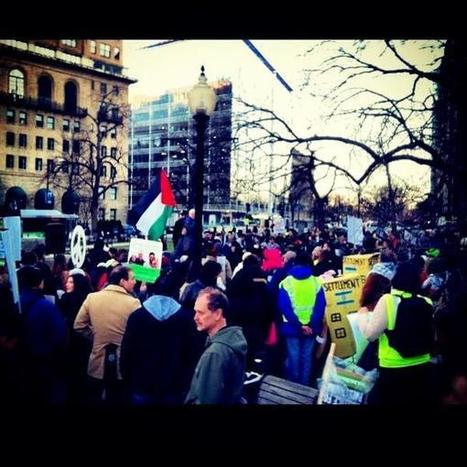 More than 600 people (of all religions/cultures) came out to the #DCRally to End #USA aid to #apartheid #Israel | RI Geography | Scoop.it