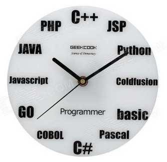 Un reloj de pared perfecto para un programador, ¿o no?   Mil ideas de Decoración   Accesorios decoración   Scoop.it