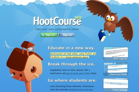 HootCourse | Back Channel in the Classroom | Scoop.it
