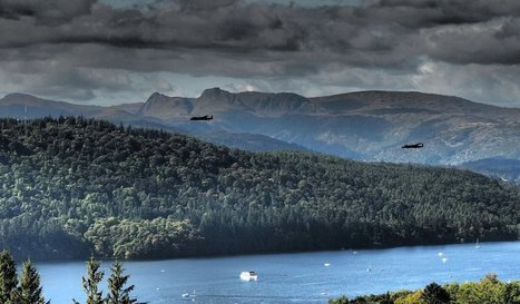 Lancaster bombers over Windermere   Windermere And Bowness   Scoop.it