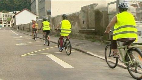 Circuler en ville en vélo, pas si facile - France 3 Franche-Comté   Revue de web de Mon Cher Vélo   Scoop.it