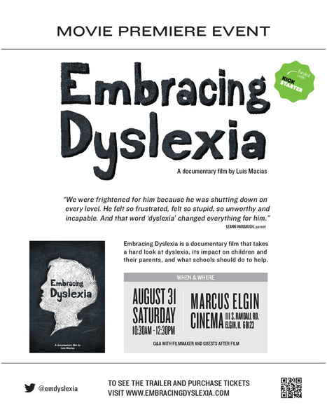 Embracing Dyslexia | Early Literacy | Scoop.it