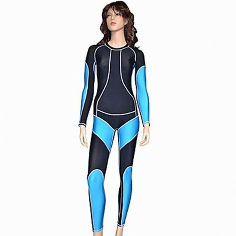 Long Sleeve Women's Catsuit Costume|Black and Blue Spandex Nylon Women's Catsuit Costume|Long Sleeve Black and Blue Spandex Nylon Women's Catsuit Cosplay Costume | Zentai Suits Cosplay | Scoop.it