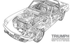 Colouring in car classics | Martin Love | Technology in Art And Education | Scoop.it