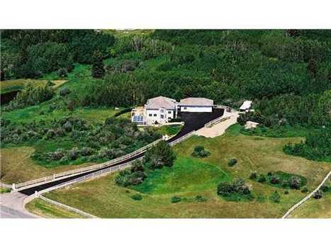 8 Acres | 30042 Burma Road, Rural Rockyview County, AB | Luxury Real Estate Canada | Scoop.it