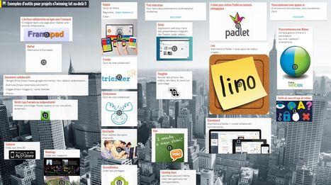 Exemples d'outils numériques pour projets eTwinning (et au-delà !) | TICE et Web 2.0 | Scoop.it
