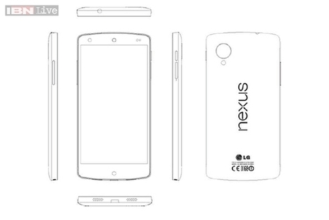 Google Nexus 5 details leaked: 4.95-inch 1080p display, 32GB storage, 8MP camera | SEO Outsourcing Blog | Scoop.it